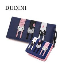 DUDINI  Women's Wallet Portfolio Kasele Bag Clutch Wallet Messenger Bag Women Purse Carteiras Femininas Monederos Mujer Monedas