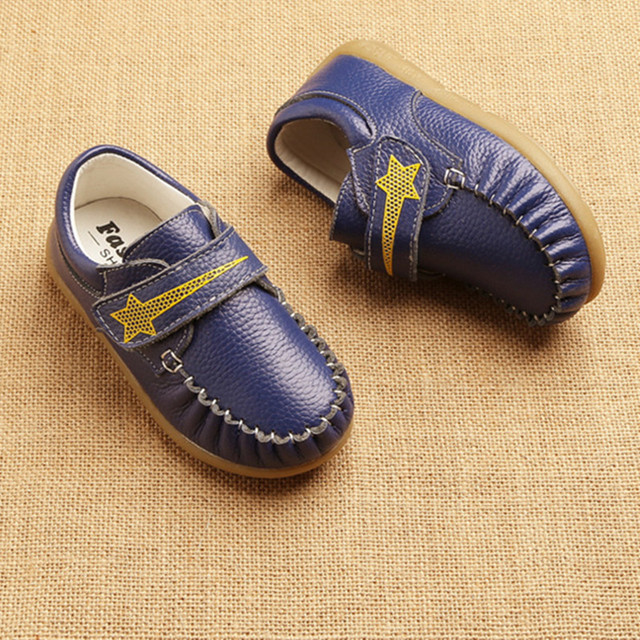 baby Boys shoes Genuine leather Fashion Kids Shoes comfortable school Shoes  non-slip Children Sport 836457f4037e