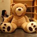 Riesige Größe 160 cm/200 cm Amerikanischen Riesen Bär Haut Teddybär Mantel Gute Qualität Günstige Preis Weiche Plüsch spielzeug Für Kinder Baby Brinquedos