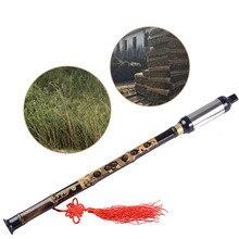 Флейты деревянный ветер черный бамбук китайский Юньнань Bawu G ключ трубы музыкальный инструмент