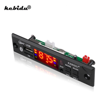 Hot Sale Car Audio USB TF FM Radio Module Wireless Bluetooth 5V 12V MP3 WMA Decoder Board MP3 Player with Remote Control For Car