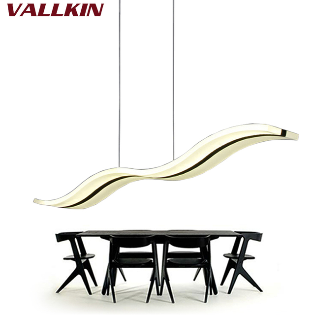 Pendentif LED Lumières Cuisine Moderne Acrylique Suspension Suspension  Plafonnier Design Table à Manger éclairage Pour Déco