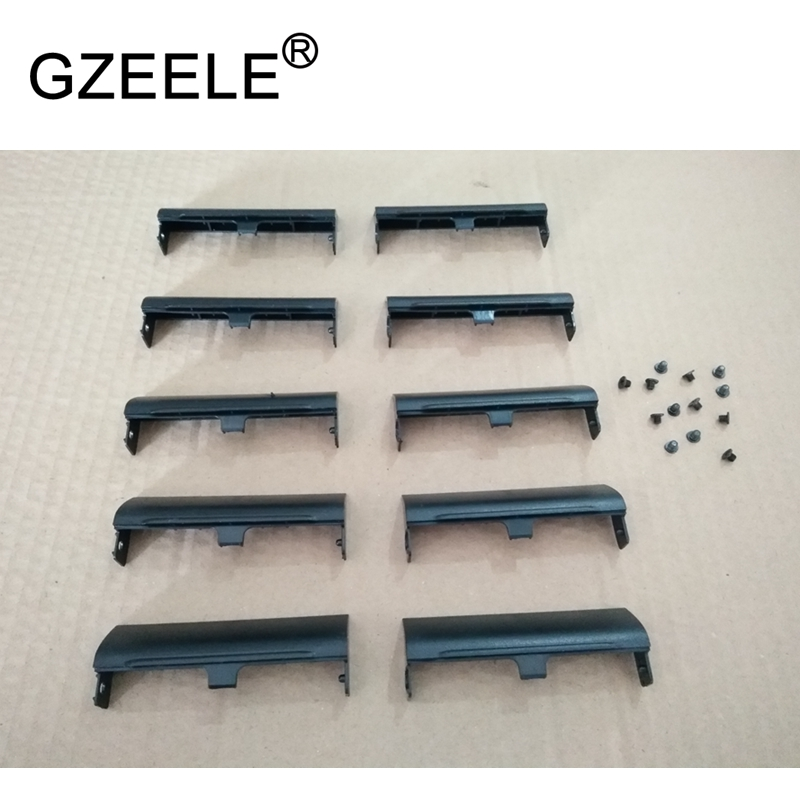 GZEELE 10pcs/lot HDD Cover For Dell Latitude E6420 E6520 HDD Hard Drive Disk Caddy Cover With Screw