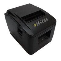 2 шт. высокое качество pos-принтера 80 мм Тепловая чековый маленький Билет принтер штрих-кода автоматической резки принтер быстрая печать