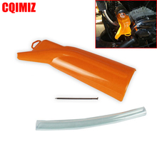 цена на Motorcycle Oil Catcher Drain Oil Funnel 63794-10 For Harley XL 04-later XR 08-13 Dyna 99-17 Touring 99-16 Trike 09-16