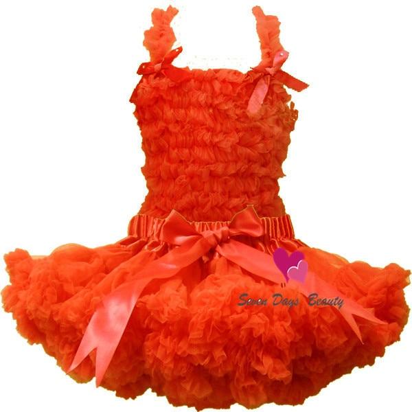 Fashion fluffy ruffle pettiskirts tutu party dress for baby and girls Petti princess tutu pettiskirts dress Free shipping