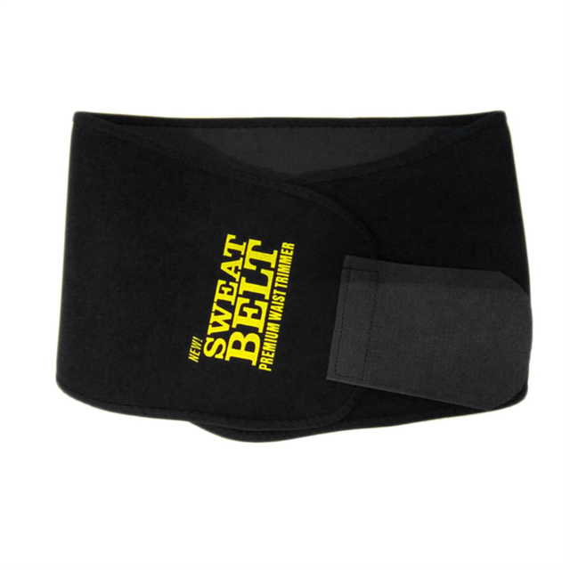 New Adjustable Fitness Waist Belt Weight Loss Trimmer Slimming Fat Burn Belt Exercise Belly Body Shaper Wrap Band Waist Support