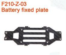 F17426 Walkera F210 RC Hélicoptère Quadcopter pièces de rechange F210-Z-03 batterie conseil de support Fixe Plaque