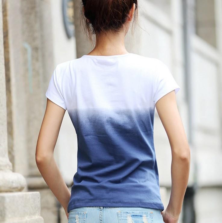 юелая с принтом футболка свободная доставка из Китая