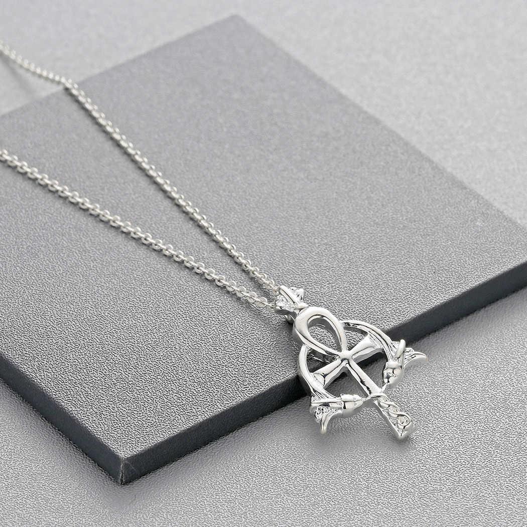 Colar de pingente ankh para mulheres cruz antiga religiosa jóias egípcias egito charme masculino presente collier amuleto viking neckalces