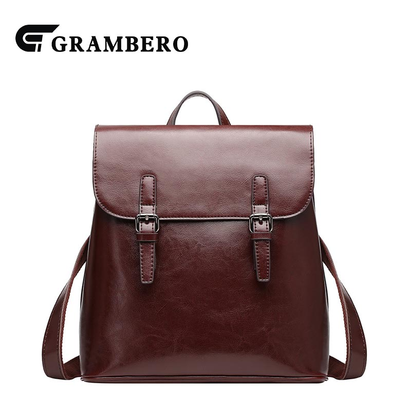 2018 Fashion Soft Genuine Leather Women Backpack Zipper Cover Second Layer Cowhide Leather Solid Color School Bag Shopping Bags 2018 new style soft genuine leather zipper backpack black color cow leather women fashion bag for party sent friends school bags