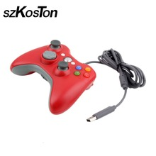 USB Wired Joypad Gamepad Controller Gaming For Xbox 360 Joystick Controller For Official Microsoft PC for Windows 7 8 10 XP