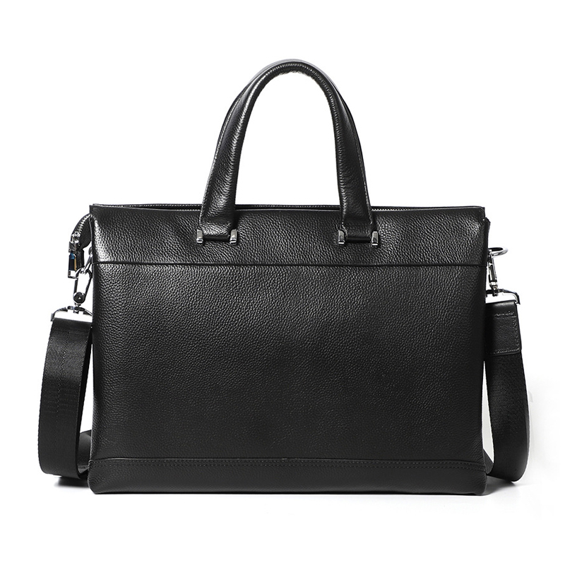 New Men Handbag Genuine Leather Briefcase Mens Shoulder Messenger Bag Casual Cowhide Mens Bag Business 14 inch Laptop BagNew Men Handbag Genuine Leather Briefcase Mens Shoulder Messenger Bag Casual Cowhide Mens Bag Business 14 inch Laptop Bag
