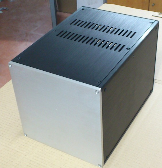 E-047 QUEENWAY 01 CNC Full Aluminum Isolated/P Power Supply Chassis case/box 221.5mm*221.5mm*311mm 221.5*221.5*311mm (W*H*D) queenway audio 2215 cnc full aluminum amplifier case amp chassis box 221 5mm150mm 311mm 221 5 150 311mm