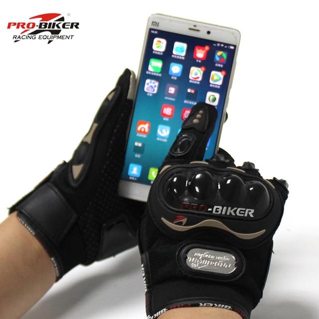 Gants de moto Pour l'hiver et été Insert tactile sur l'index, permettant la manipulation gantée de votre smartphone ou GPS 2