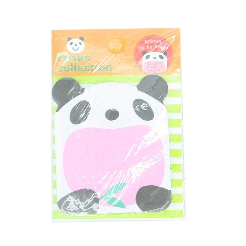 Peerless1 Pics Cute Kawaii Animal Sheep Panda Memo Pads Mini Stickers Korean Stationery Sticky Notes For Diary Things Memo Pad Office & School Supplies
