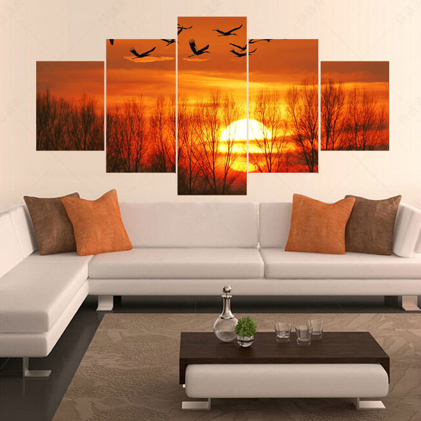 Popular geese art buy cheap geese art lots from china for Decoracion de living