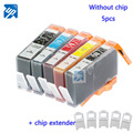 5PCS compatible ink cartridge for HP 564 XL 364 XL 178  C5324 HP364 B8550 B8553 C6300 C6380 C5300 D5460 D5463 D7560 B109 no chip