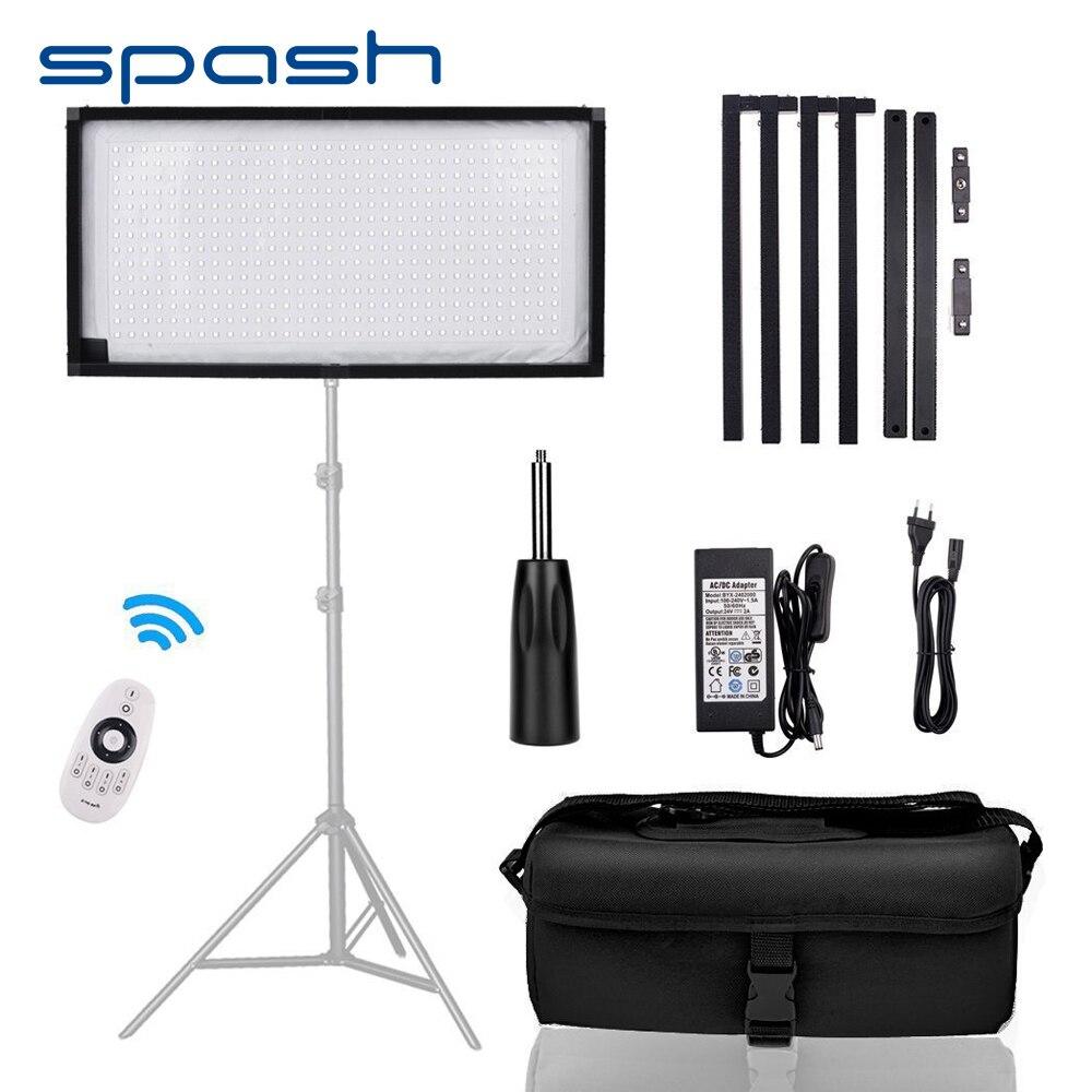 Spash FL 3060 светодиодный видео свет фотографическое Освещение 5500 K 448 светодиодный s CRI90 светодиодный свет для фотосессии YouTube фотографии лампы