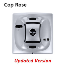 Cop Rose X6 Intelligent Window Cleaning Robot,Automatic Planned Washer,Remote Control, Anti-Falling, Glass Vacuum Cleaner Tool(China)