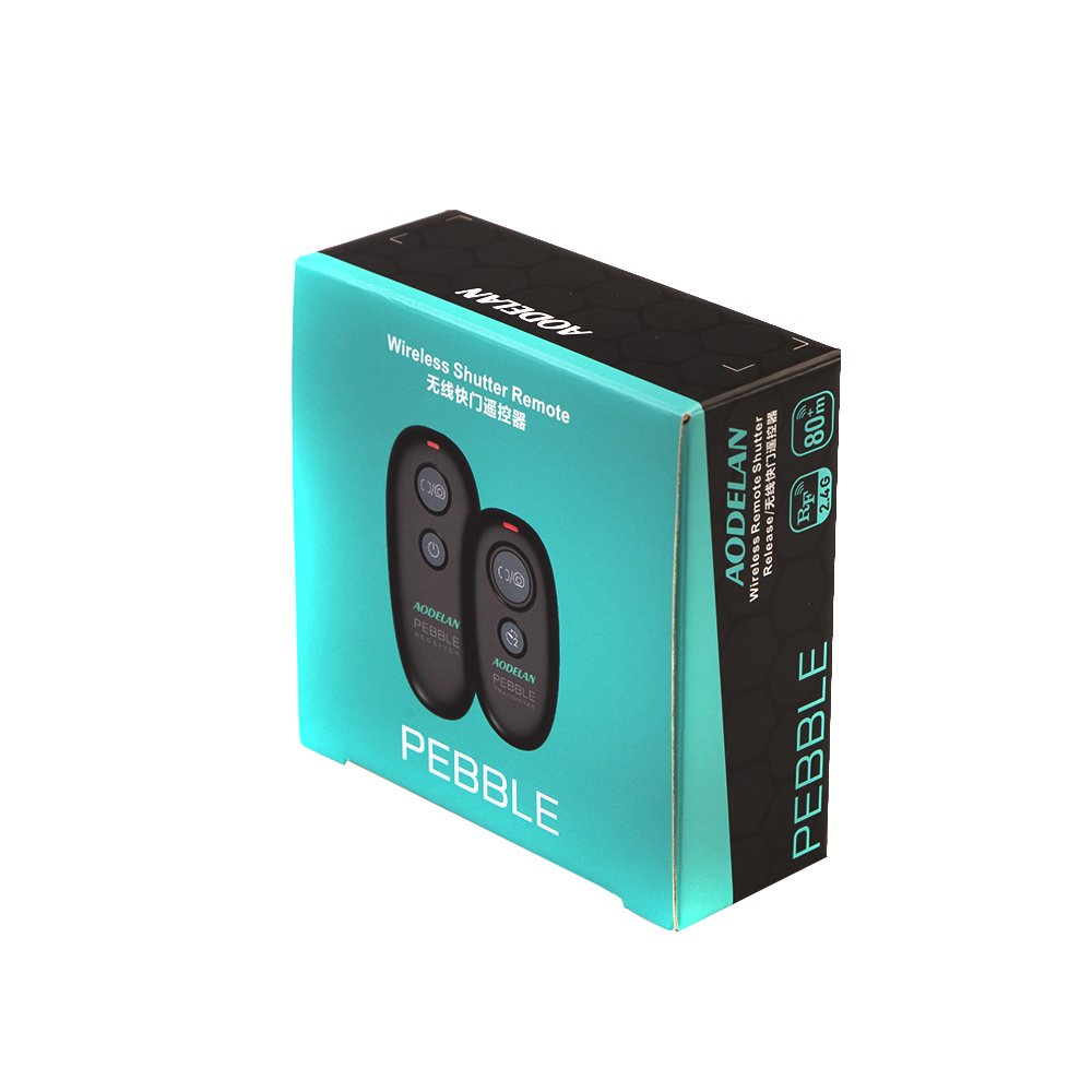 Déclencheur à distance AODELAN pour Canon EOS R, 80D, 77D, 70D, 60D, 800D, 760D, 200D, 1500D, 7D Series, 5D Series, T7 T7i - 6