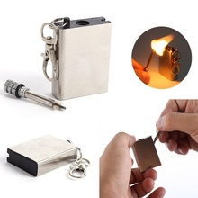 Metal Match 10000 time Fire Tool Flint Stone Lighter Magnesium Outdoor Survive Camp Hike