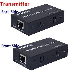 Image 3 - 4K x 2K Bộ Kéo Dài HDMI Phát + Receiver100m 1080P CAT5E6 Cáp Mạng UTP Cắm Bộ, cho HDTV PC Video Miễn Phí Vận Chuyển