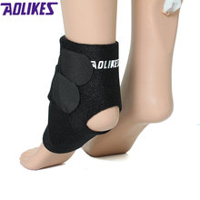 Newest 1pcs Breathable Sports Ankle Support Winding Pressure Ankle Brace Protecter for Gym Fitness Running Basketball Climbing