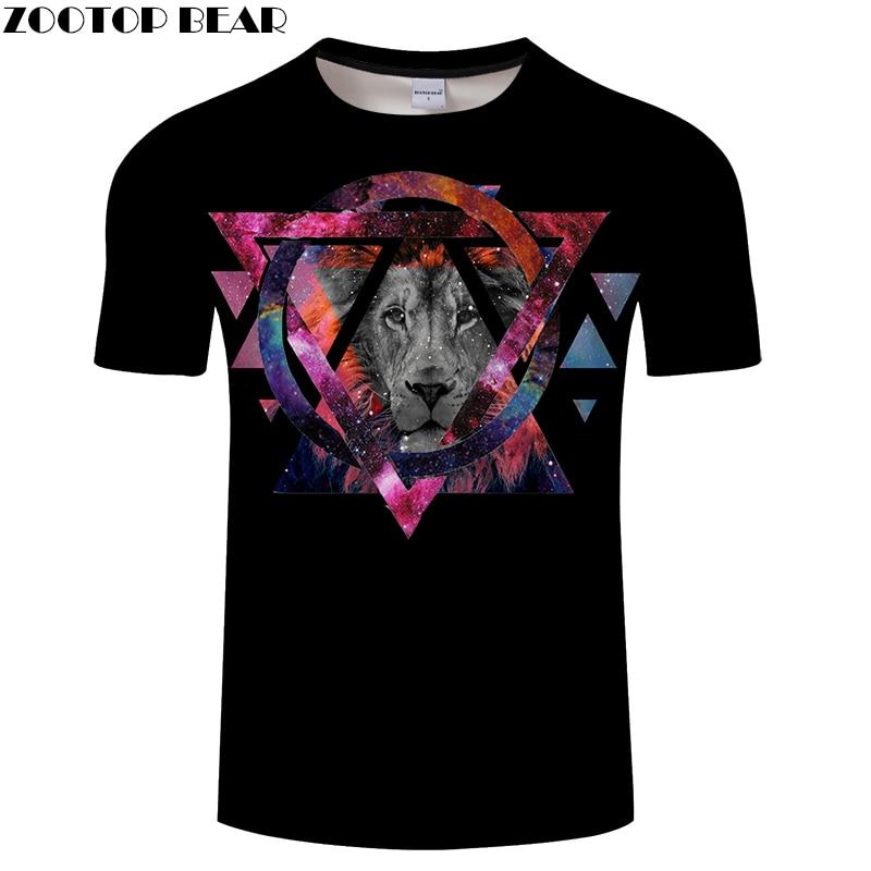 Black tshirts Men 3D t shirt Tiger Tee Casual t-shirt Summer Top Streatwear Short Sleeve Tee Harajuku O-neck DropShip ZOOTOPBEAR