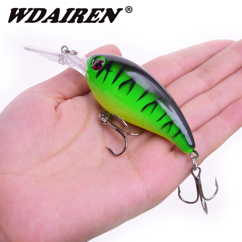 1Pcs Crank Bait Topwater Wobblers 10cm 14g Fishing Lure Bass Artificial Hard Bait Treble Hook Lures Pesca Fishing Tackle FA-198