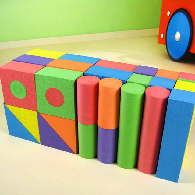 Foam Blocks Construction Game