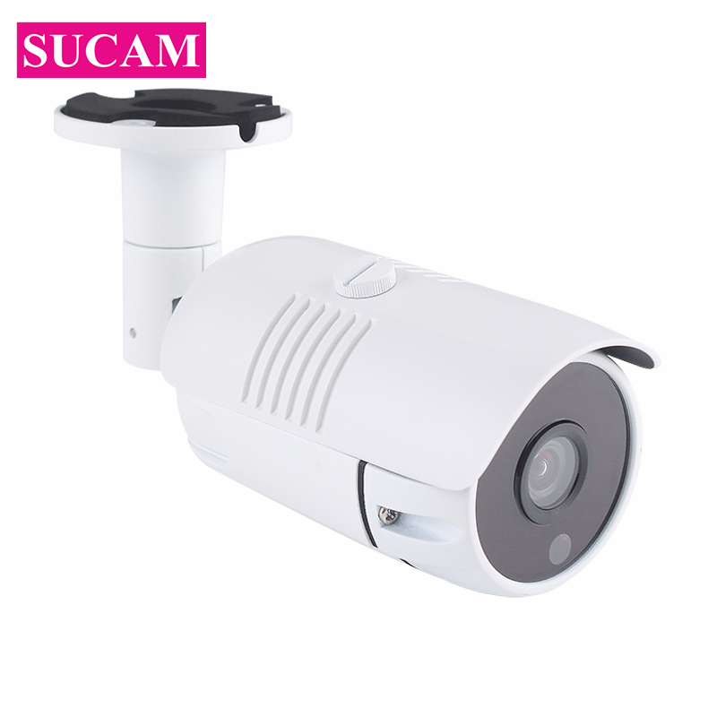 SUCAM 1920*1080P 2MP POE IP CCTV Camera Outdoor Home Surveillance Network Security Camera 1080P Waterpproof 20M IR Night Vision sucam 1080p night vision 2mp cctv camera ip network wired waterproof outdoor infrared full hd ip camera for house security
