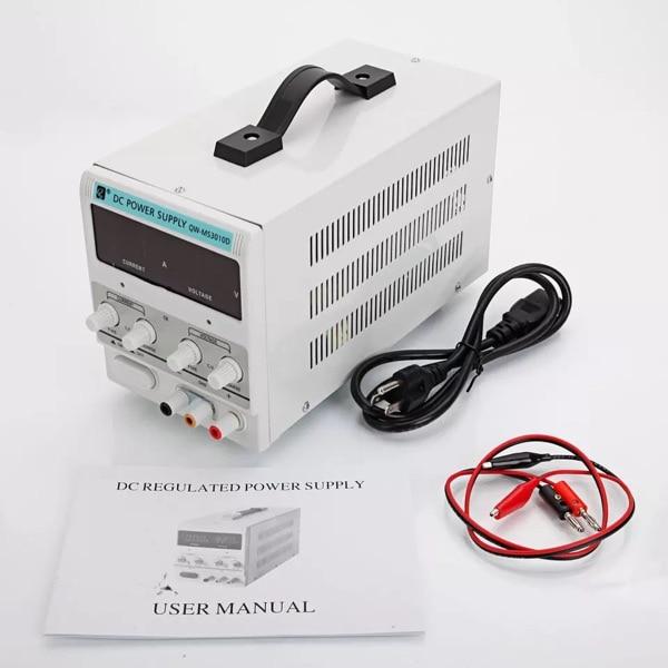 Safstar fuente de alimentación ajustable 30V 5A 110V precisión Variable DC Laboratorio Digital Organizador de zapatos ajustable, duradero, 16 Uds., soporte para ranura para ahorro de espacio, soporte de armario, estante de almacenamiento de zapatos, Shoebox