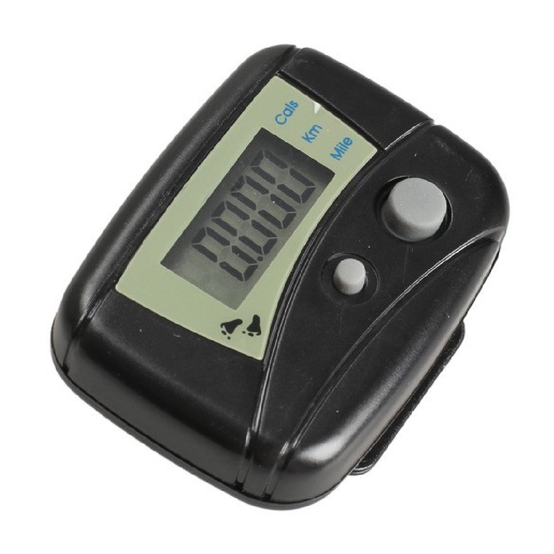 Best Price Electronic Steps Black Digital LCD Run Step Run Pedometer Walking Calorie Counter Distance Clip-on step counter