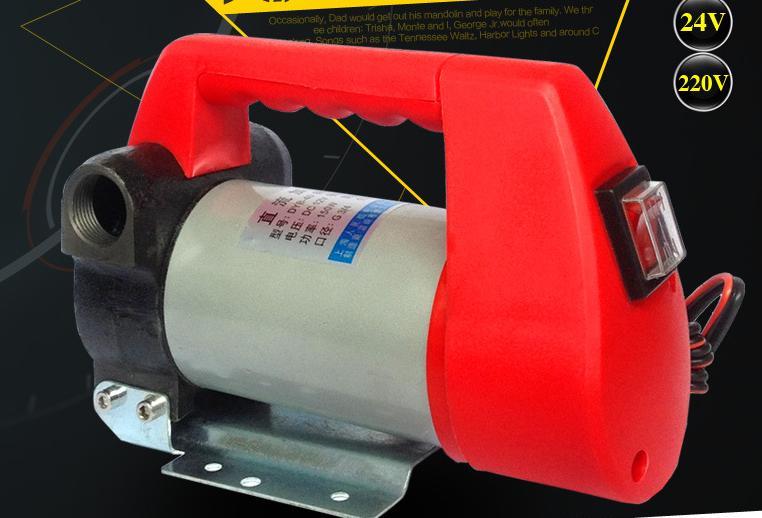 Pompe à huile électrique 24 v Machine d'aspiration d'huile 12 v Micro Diesel pompe doseuse à courant continu 220 v