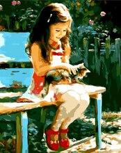 "DIY Painting By Number – Kid (16""x20"" / 40x50cm)"