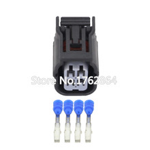 4 Pin car modified connector oxygen sensor socket with terminal DJ7042A-1.2-21 4P connector цены