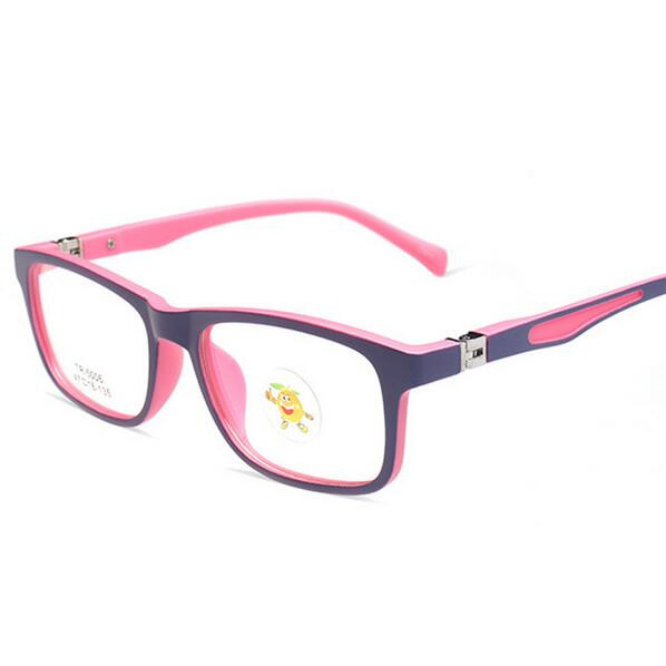High Quality Child Glasses TR90 Frame Eyeglasses Girl Boy Square Optical Frames Junior Student Myopia Eyewear 5006