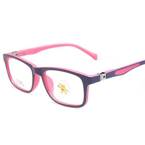 High Quality Child Glasses TR90 Frame Eyeglasses Girl Boy Square Optical Frames Junior Student Myopia Eyewear 5006