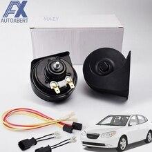 Waterproof Car-Horn Low-Tone Hyundai 12V for Elantra XD HD MD/UD 410/510hz-Horn 110-125db