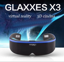 Vr all-in-one 3 d virtual reality gamehead-mounted helmet buy + android 4 k hd theater with WIFI