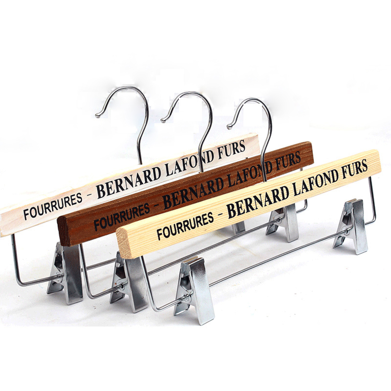 5pcs/lot wooden children hangers for clothes adult wood pants rack vintage creative letters hanger