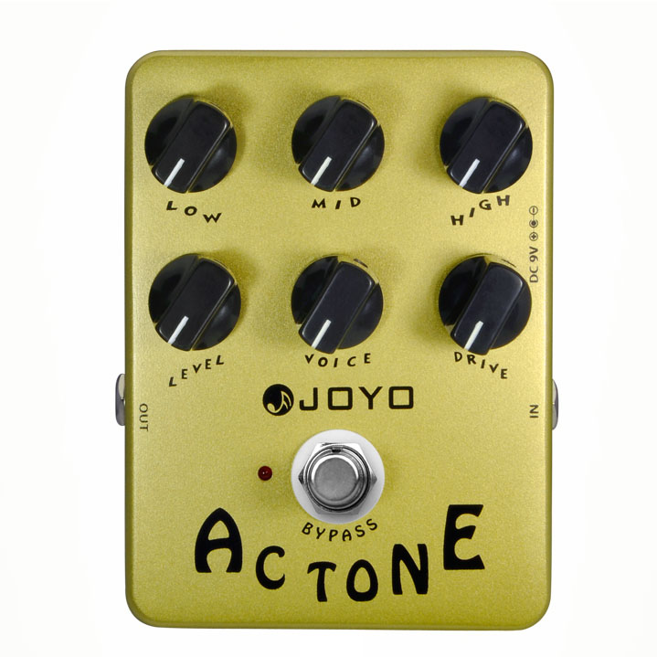 Tono de JOYO JF-13 AC Vox Simulador de Amplificador de Efectos de Guitarra Pedal