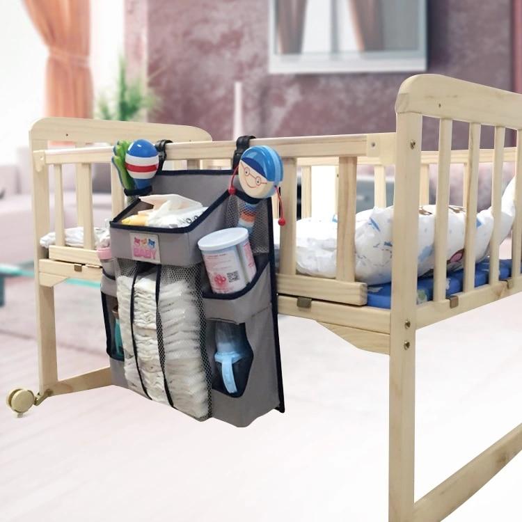 Dziecko Wiszące Worek Do Przechowywania Zabawki Pieluchy 36 * 39 cm - Pościel - Zdjęcie 3