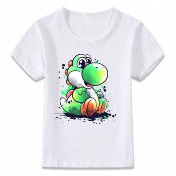 T-Shirt Super Mario Yoshi Unisexe Enfants