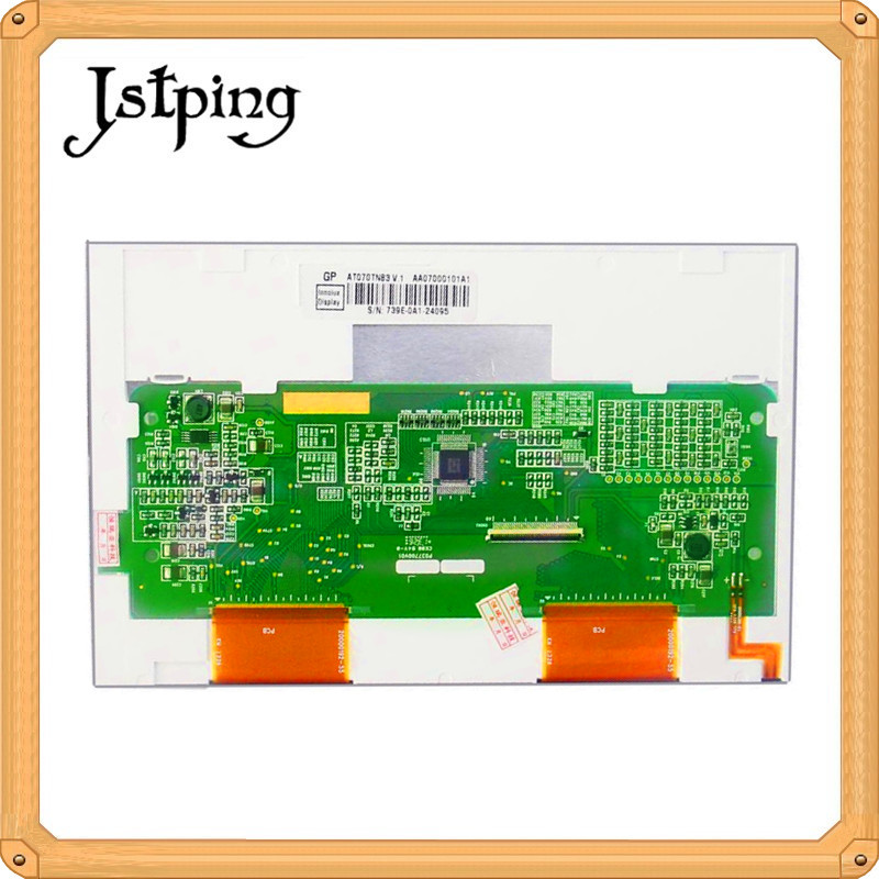 Jstping 7 inch a-Si TFT 40pins 800*480 LCD screen for Innolux <font><b>AT070TN83</b></font> <font><b>V</b></font>.<font><b>1</b></font> <font><b>V</b></font>.3 V1 V3 lcds Internal screen display panel image