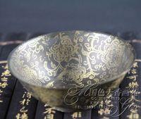 Nefis Çin Antik koleksiyon İmitasyon antik bakır süs kase