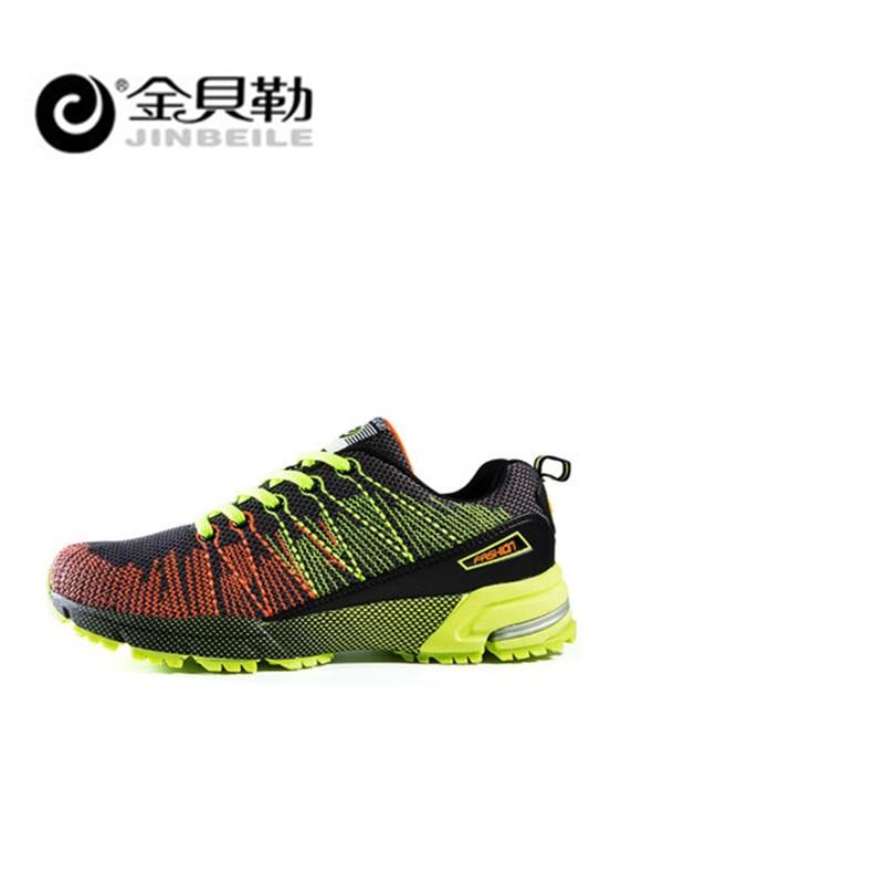 Jinbei, мужская спортивная обувь для бега, музыкальный ритм, мужские кроссовки, дышащая сетка, для улицы, спортивная обувь, светильник, мужская ...