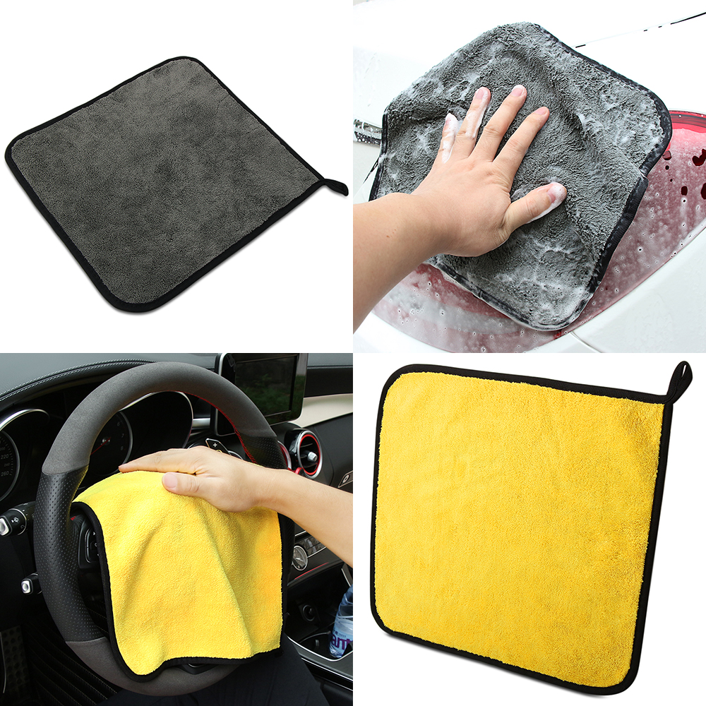 Charitable Car-styling Car Care Wash Cleaning Microfiber Towel For Zafira A Tucson Xc60 Fiat Bravo 2 Audi A5 Peugeot 3008 Suzuki Sx4 Amg Exterior Accessories