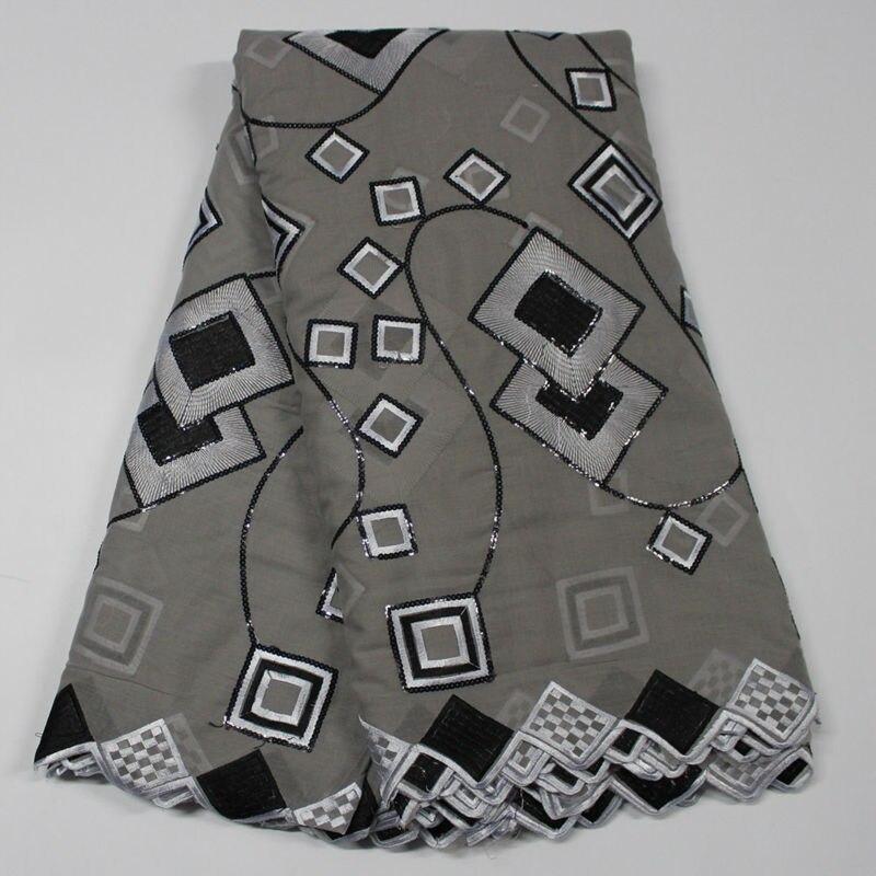 tissu africain gris